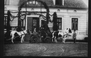 historic picture of manor house