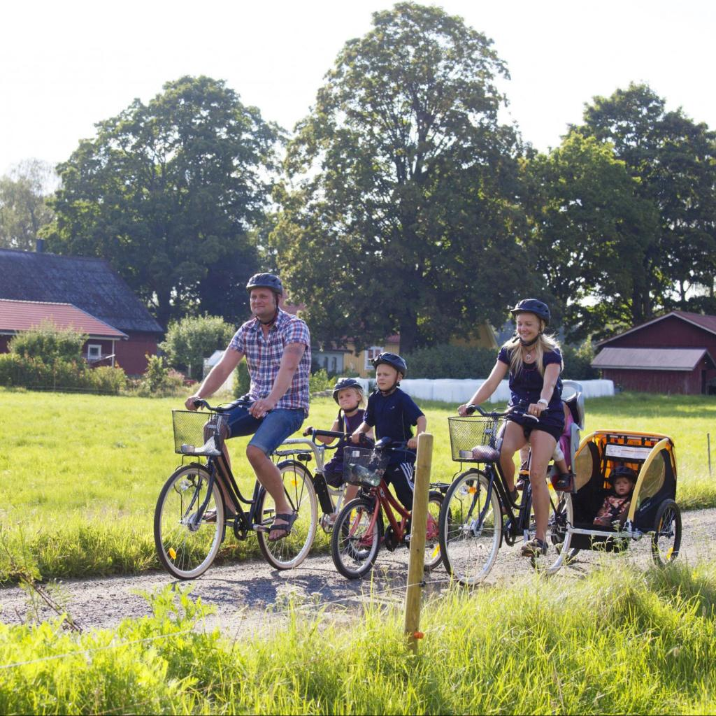 Cycle bike tourism skane