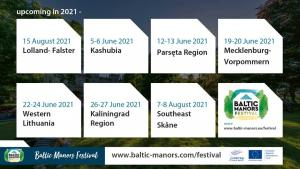 Baltic Manors Event appointments